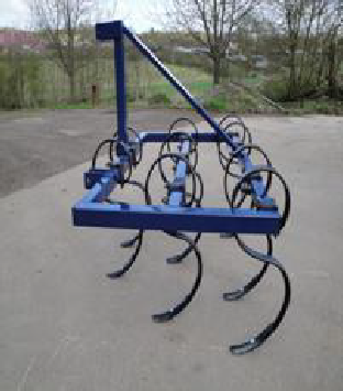 Oxdale 4'  Spring Tine Cultivator