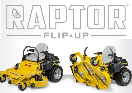 "HUSTLER Flip-Up 48"" Zero Turn Mower"